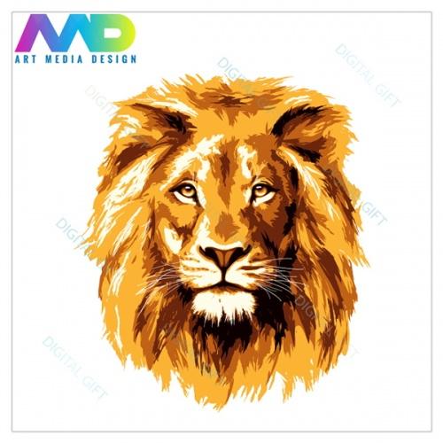 Tricou bărbați - Regele leu 1