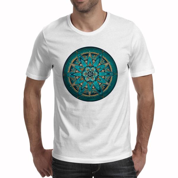 """Tricou bărbați - Mandala """"Despre adevăr"""" [0]"""