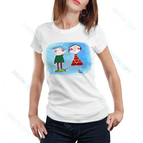 Tricou dame - Emoție 0