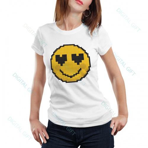 Tricou dame - Emoji 0