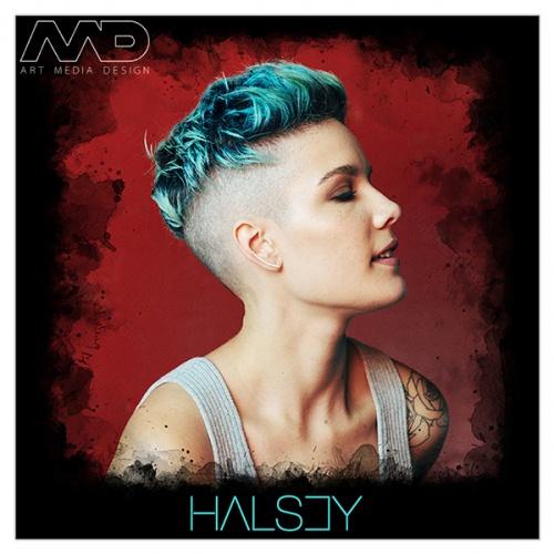 Tricou dame - Halsey [1]
