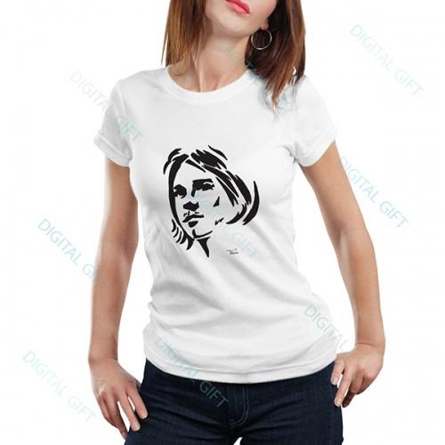 Tricou dame - Kurt Cobain 0