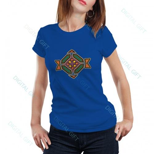 Tricou dame - Motive etno 01 0