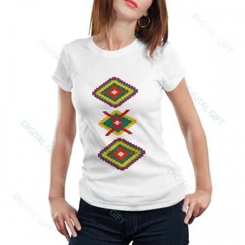 Tricou dame - Motive etno 03 0