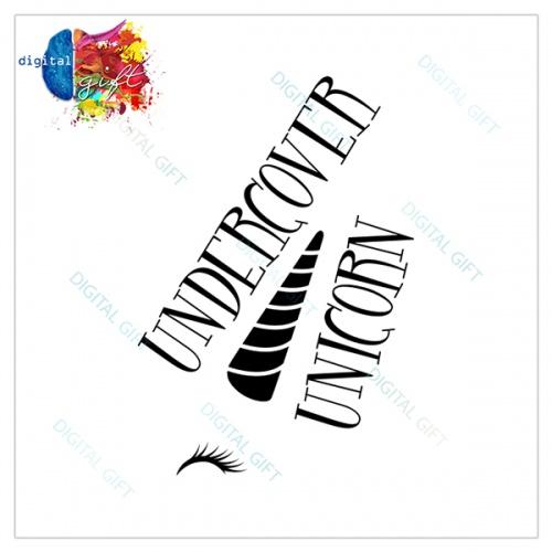 Tricou dame - Undercover Unicorn 1