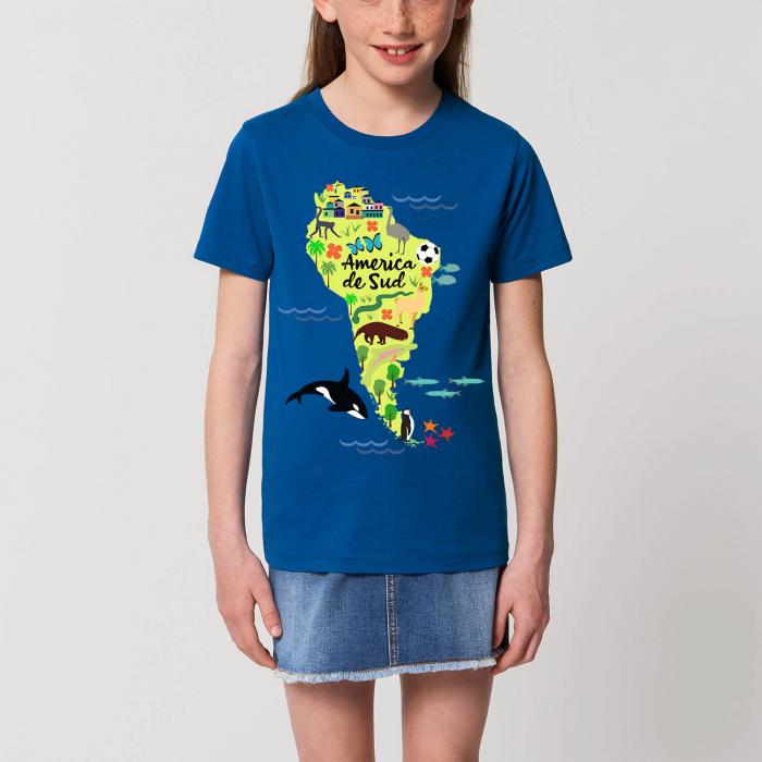 Tricou unisex pentru copii - America de Sud [0]
