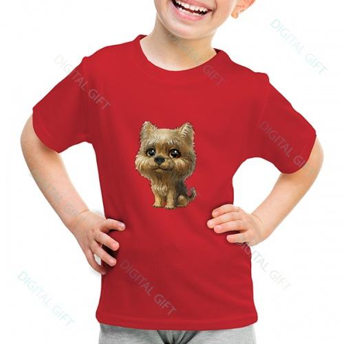 Tricou unisex copii - Cățelușul meu #01 0