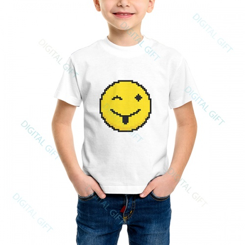 Tricou unisex copii - Emoji 02 0