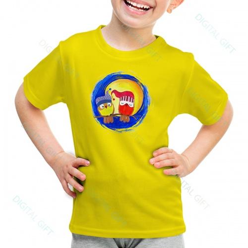 Tricou unisex copii - La lumina lunii 0