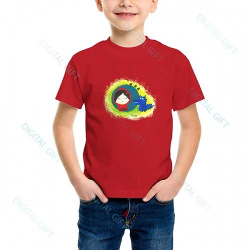 Tricou unisex copii - Scufița roșie 0