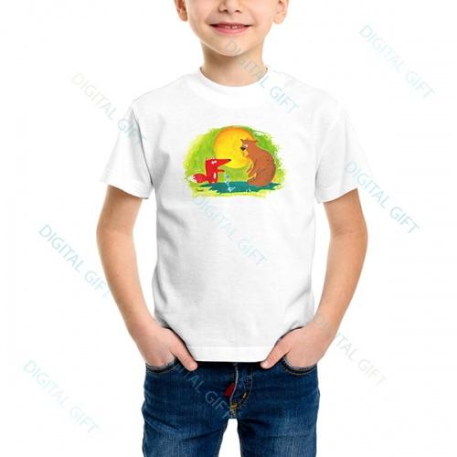 Tricou unisex copii - Ursul păcălit 0