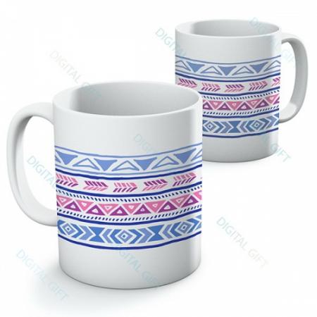 Cană ceramică - Motive etno 010