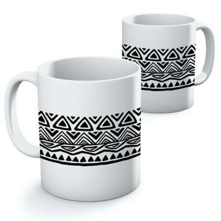 Cană ceramică - Motive etno 020