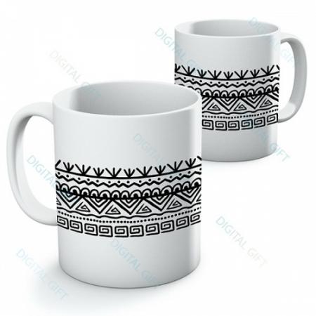 Cană ceramică - Motive etno 030