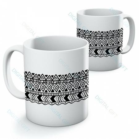 Cană ceramică - Motive etno 04 [0]