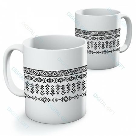 Cană ceramică - Motive etno 060