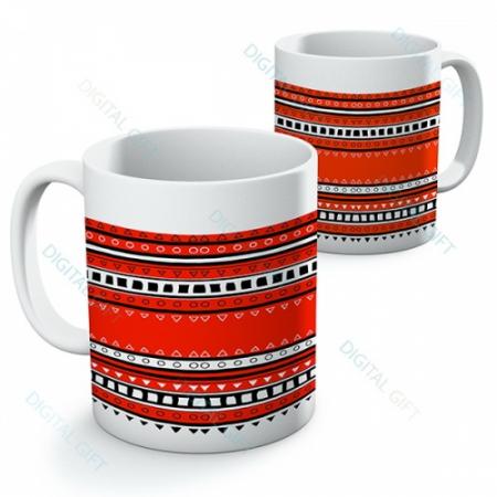 Cană ceramică - Motive etno 070