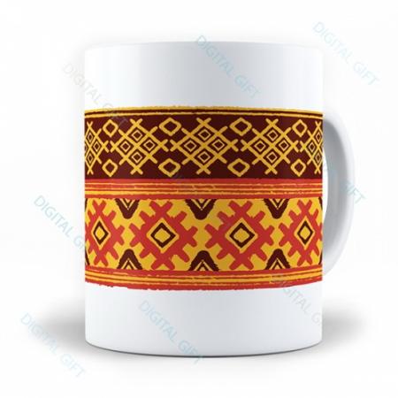 Cană ceramică - Motive etno 08 [0]