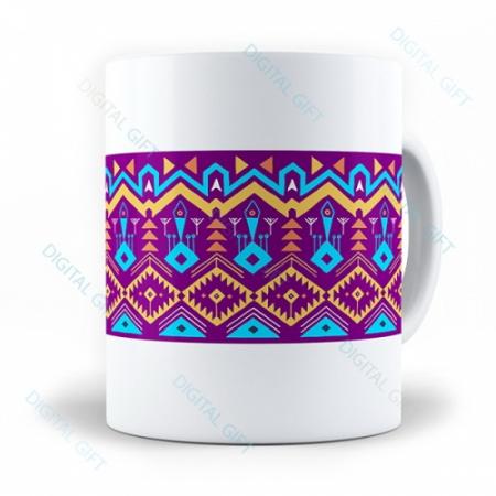 Cană ceramică - Motive etno 090