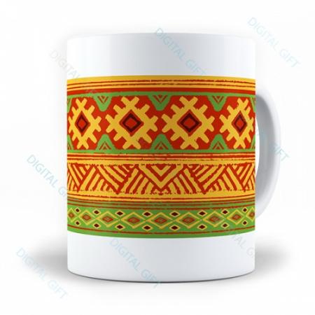 Cană ceramică - Motive etno 100