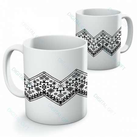 Cană ceramică - Motive etno 12 [0]