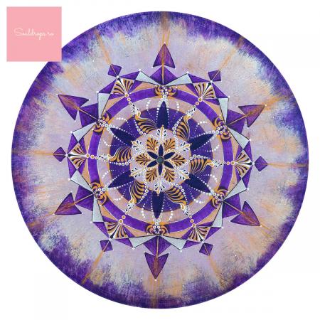 """Cană ceramică - Mandala """"Coroana"""" [1]"""