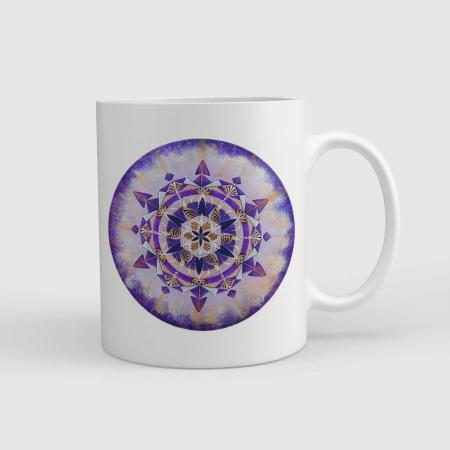 """Cană ceramică - Mandala """"Coroana"""" [0]"""