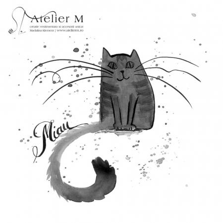 Cană ceramică - Miau, Miau [1]