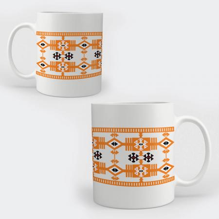 Cană ceramică - Motive tradiționale #019b [0]