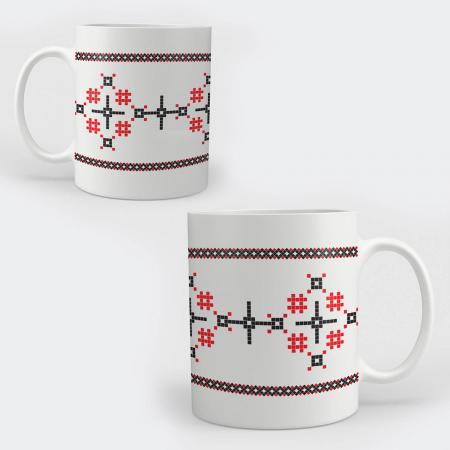 Cană ceramică - Motive tradiționale 06 [0]