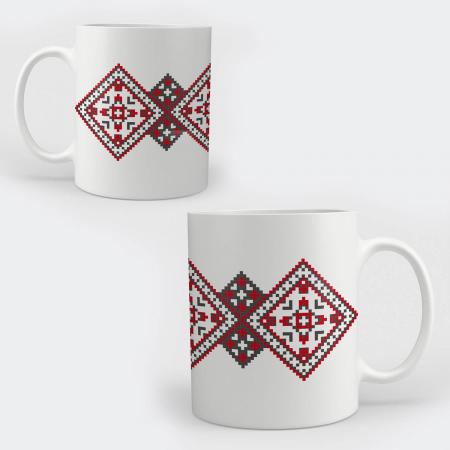 Cană ceramică - Motive tradiționale 08 [0]