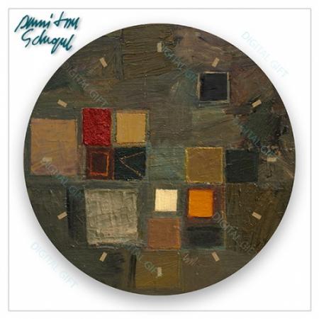 Ceas de perete - Abstract, ritm de toamnă1