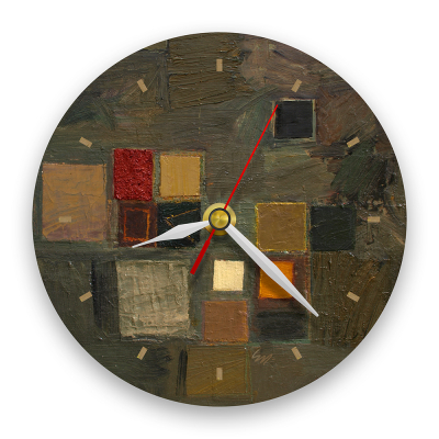 Ceas de perete - Abstract, ritm de toamnă0