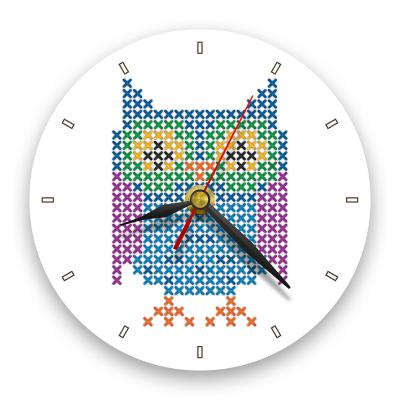 Ceas de perete - Bufnița0