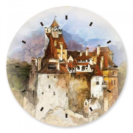 Ceas de perete - Casa lui Dracula [2]