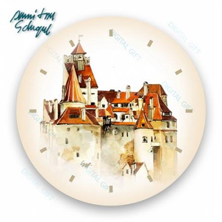 Ceas de perete - Castelul Bran1