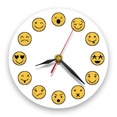 Ceas de perete - Emoji0