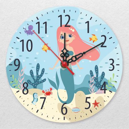 Ceas decorativ de perete - Mica sirena [0]