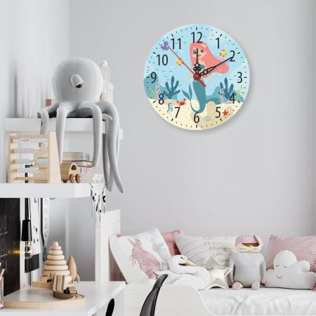 Ceas decorativ de perete - Mica sirena [1]