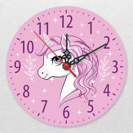 Ceas decorativ de perete - Sunt un unicorn [0]