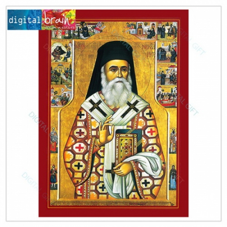 Icoană - Sf. Nectarie1