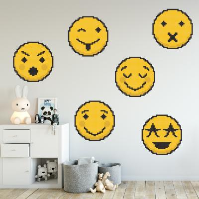 Pachet stickere pentru perete - Emoji 020