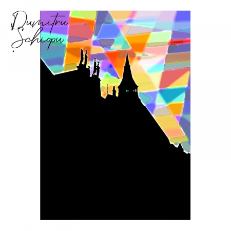 Poster abstract - Lumini și umbre #070 [2]