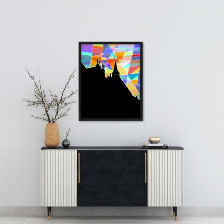 Poster abstract - Lumini și umbre #070 [1]