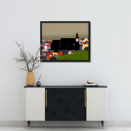 Poster abstract - Panorama de După Ziduri [1]