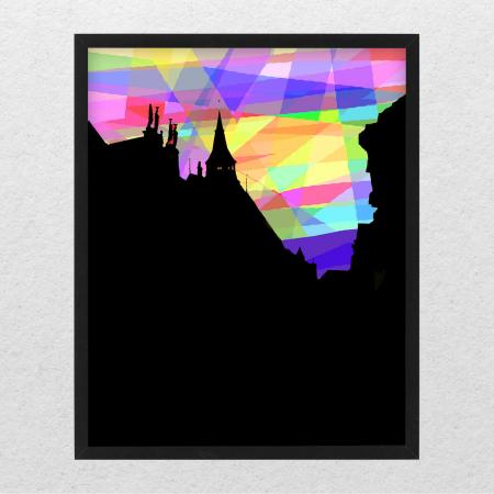 Poster decor - Raze peste acoperișuri [0]
