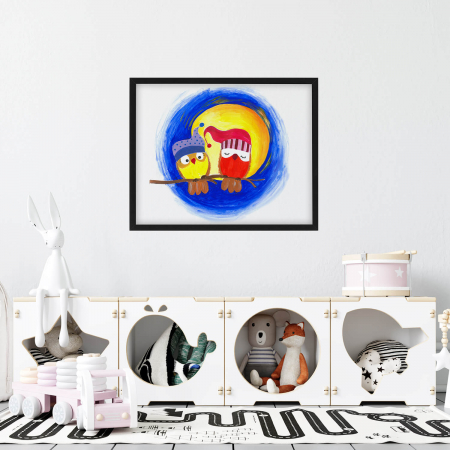 Poster decorativ - La lumina lunii [1]