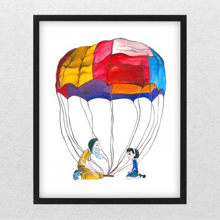 Poster decorativ pentru copii - Micul Print 01 [0]