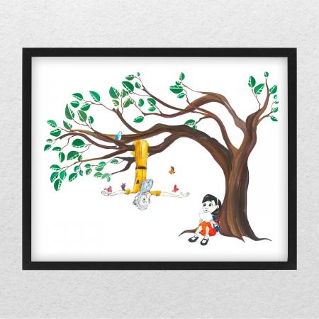 Poster decorativ pentru copii - Micul Print 03 [0]