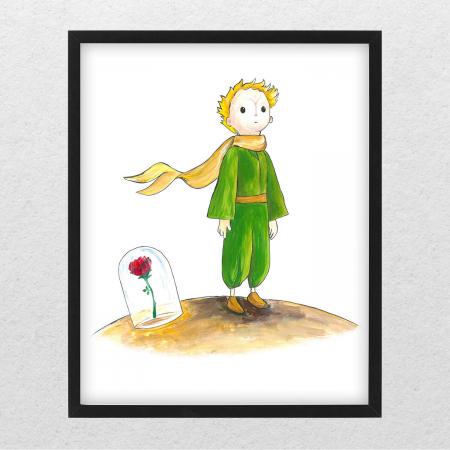 Poster decorativ pentru copii - Micul Print 06 [0]